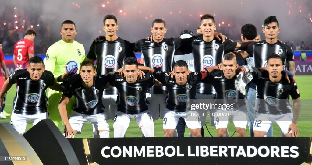 FBL-LIBERTADORES-CERROPORTENO-ZAMORA-TEAM : News Photo