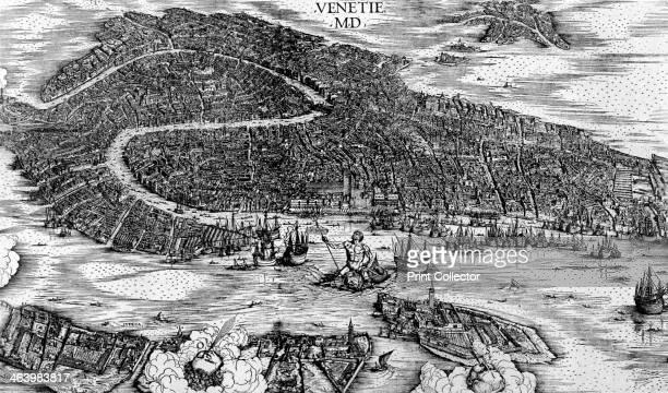 'Venice', 1500. A print from Durer, Und Seine Zeit, by Wilhelm Waetzoldt, Grosse Phaidon Ausgabe, 1936.