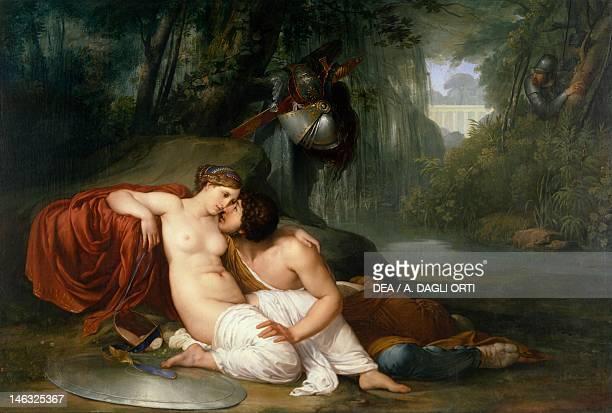 Venice Accademia Rinaldo and Armida 18131814 by Francesco Hayez oil on canvas 198x295 cm