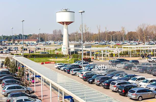 Venice Airport with parking place