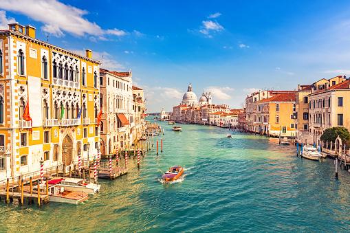 Venice at sunny evening 520093922