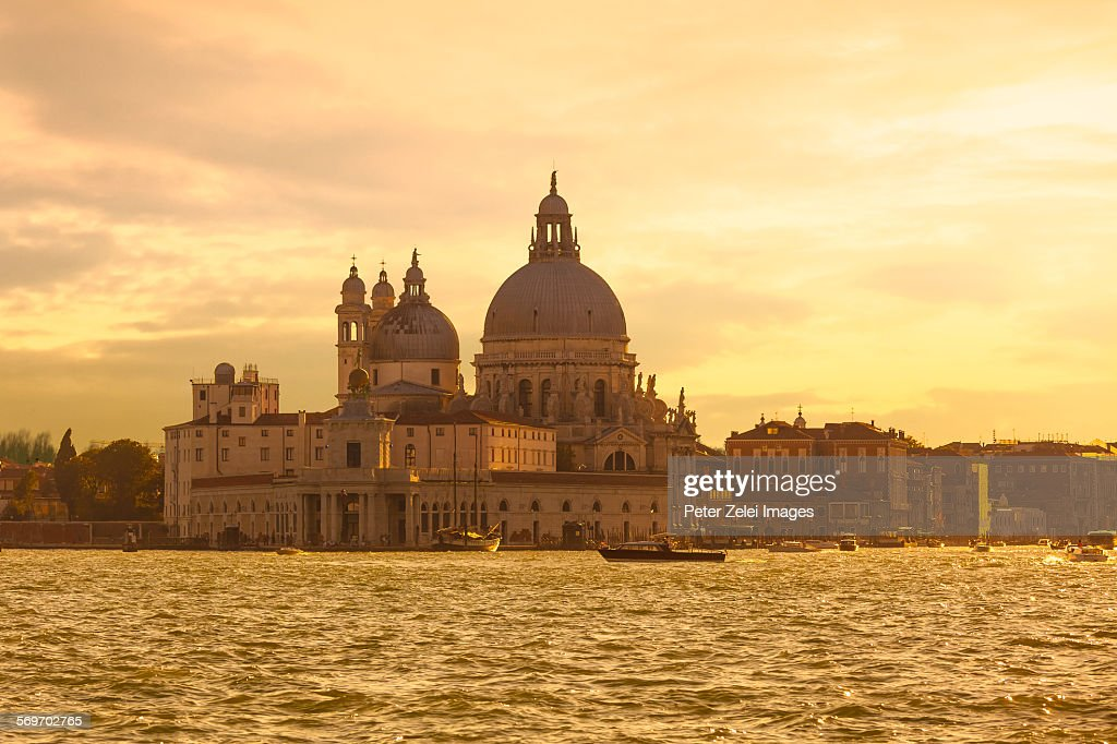 Venice at sunrise : Stock Photo