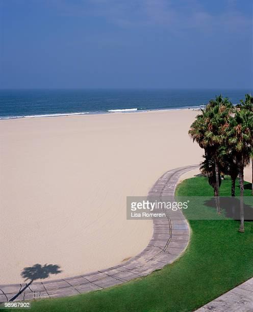 Venice Beach bike path.