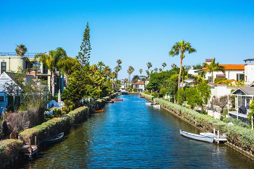 Venice Beach Canals, California, USA 518023246