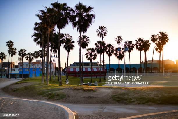 Venice Beach in den frühen Morgenstunden