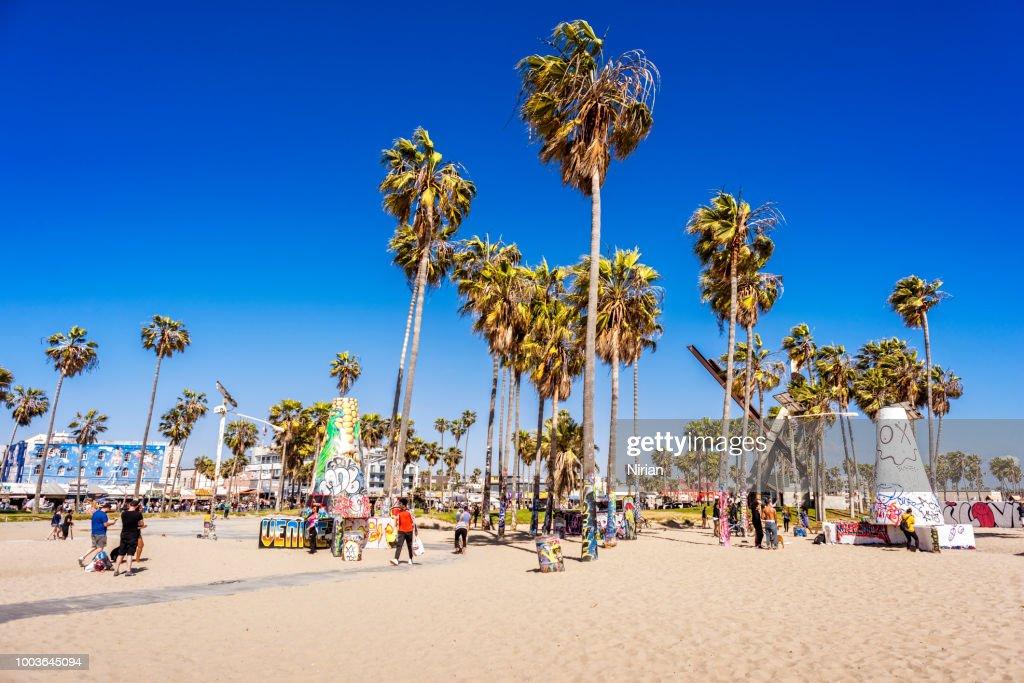 Venice Beach in Santa Monica : Stock Photo