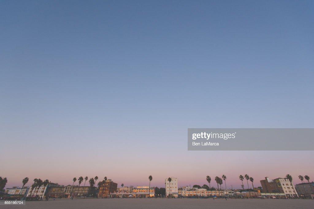 Venice Beach Skyline : Stock Photo