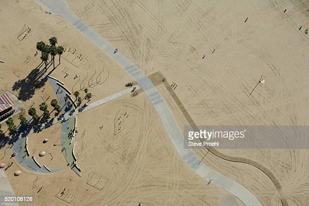 venice ca beach and boardwalk - カリフォルニア州 ベニス ストックフォトと画像