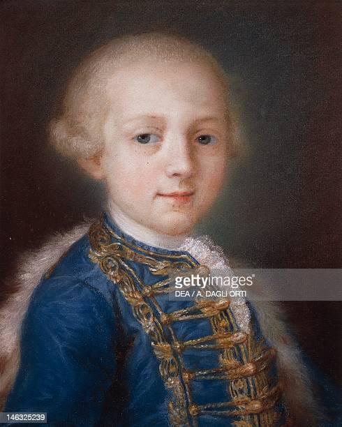 Venice Ca' Rezzonico Portrait of a Young Boy by Rosalba Carriera