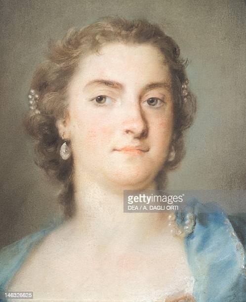Venice, Ca' Rezzonico Portrait of Faustina Bordoni Hasse, 1731-1740, by Rosalba Carriera , pastel on paper, 47x35 cm.
