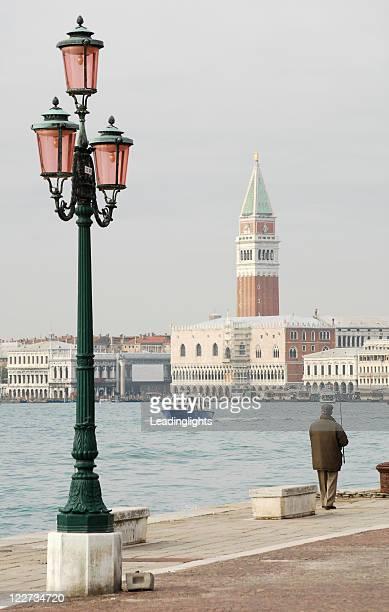 Venice Campanile & Fisherman