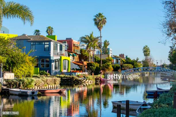 Venice Canal Historic District  California  USA