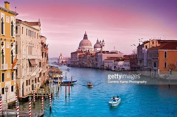 venice canale grande italy - gran canal venecia fotografías e imágenes de stock