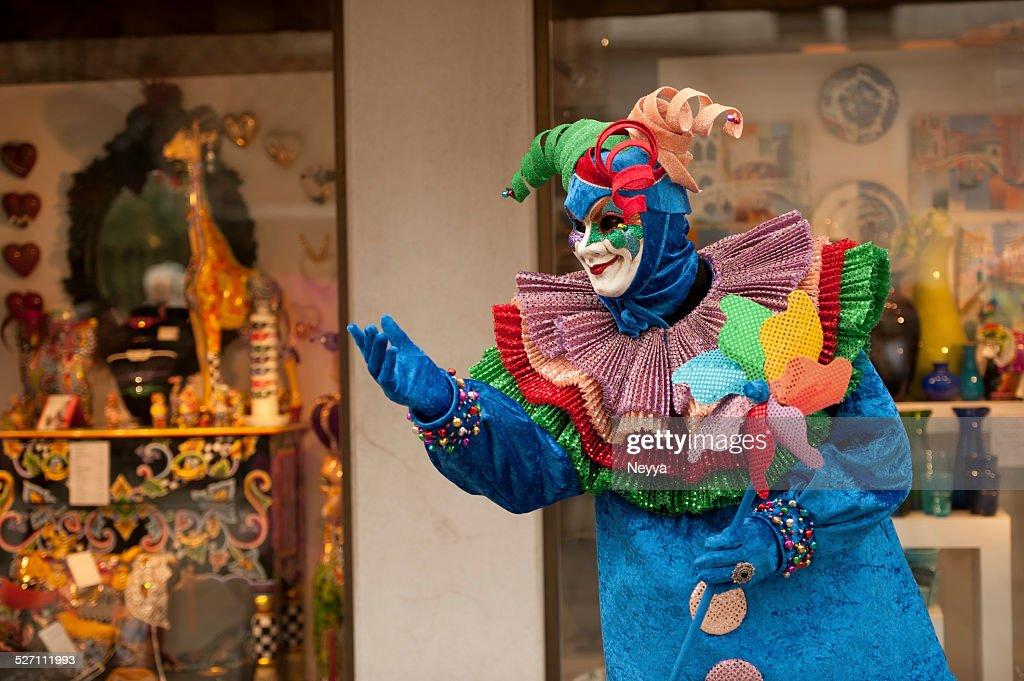 Carnaval de Veneza de 2014 : Foto de stock