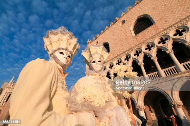 Venice Carnival in the Veneto, Italy
