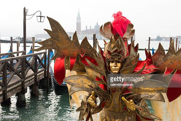 venice carnival - flowing cape stock pictures, royalty-free photos & images