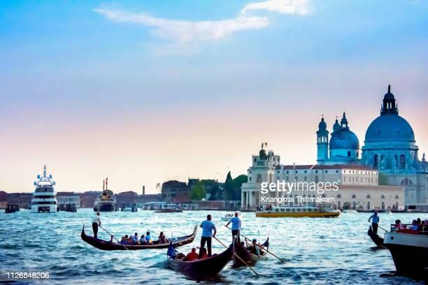 venice city, italy. - gran canal venecia fotografías e imágenes de stock