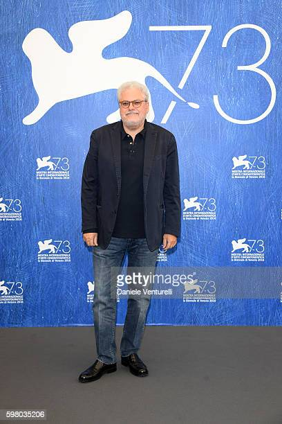 Venice Classics' jury president Roberto Ando attends the photocall of the jury during the 73rd Venice Film Festival on August 31, 2016 in Venice,...