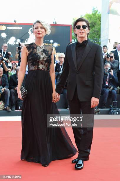 opening ceremony Michele Riondino Eva Nestori at the first red carpet of the 75th edition of the Venice Film Festival Venice August 29th 2018