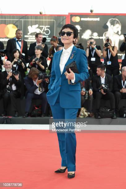 Opening ceremony. Sylvia Chang at the first red carpet of the 75th edition of the Venice Film Festival. Venice August 29th, 2018