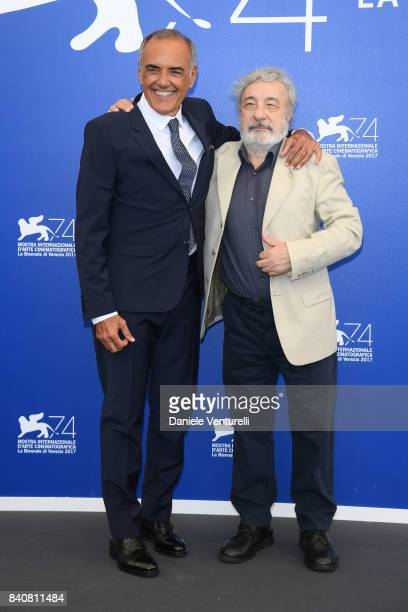 Venice Film Festival Director Alberto Barbera and President of 'Orizzonti' Jury Gianni Amelio attend the Jury photocall during the 74th Venice Film...