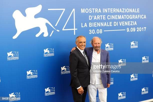 Venice Film Festival Director Alberto Barbera and president of 'Venezia Classici' Giuseppe Piccioni attends the Jury photocall during the 74th Venice...