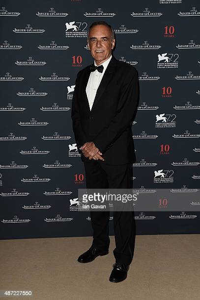 Venice Film Festival Director Alberto Barbera attends the JaegerLeCoultre gala event celebrating 10 years of partnership with La Mostra...