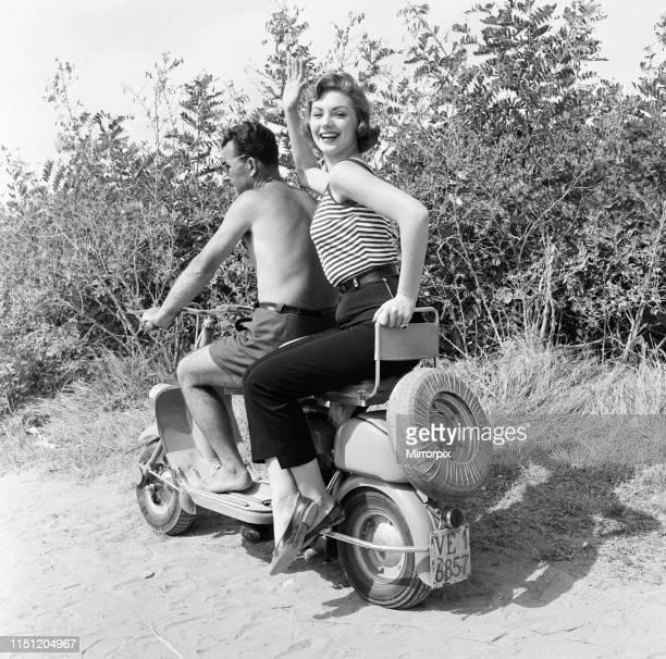 Venice Film Festival Friday 31st August 1956 pictured is Italian actress Sylva Koscina