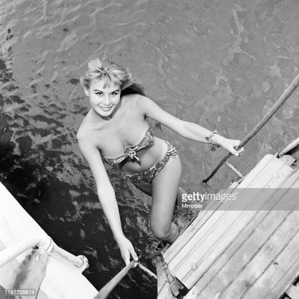 Venice Film Festival Italy Monday 3rd September 1956 pictured is Marisa Allasio Italian actress