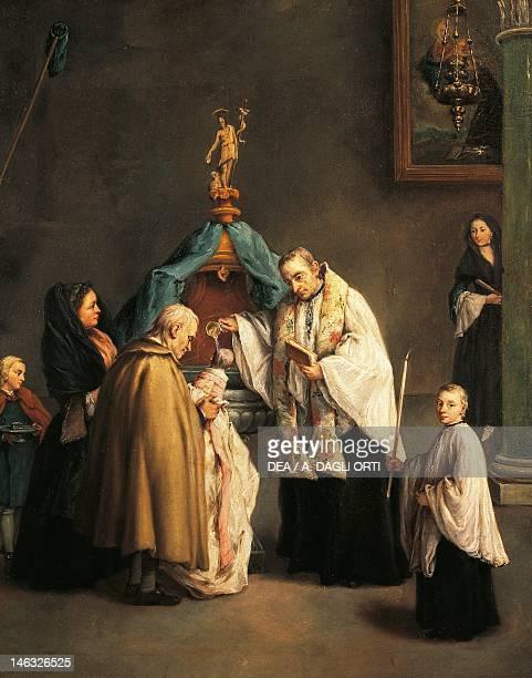 Venice Fondazione 'QueriniStampalia' The Baptism by Pietro Longhi
