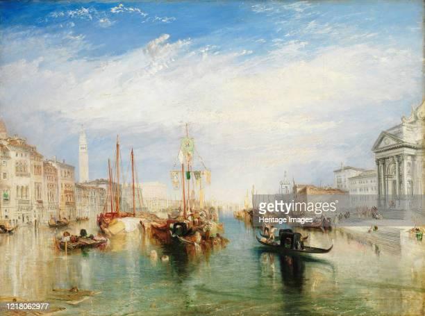 Venice from the Porch of Madonna della Salute circa 1835 Artist JMW Turner