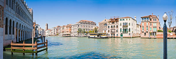 Venice Grand Canal San Marcuola Water Bus Palazzo Panorama Italy Wall Art