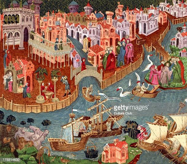 Venice in 1338 .