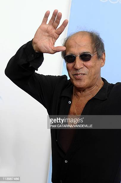 Venice International Film Festival Photocall of Italian singer actor and director Adriano Celentano In Venice Italy On September 04 2008