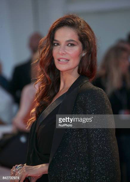 Venice Italy 04 September 2017 Ilaria Spada arrives at the red carpet of film 'Three Billboards Outside Ebbing Missouri' screening during the 74th...