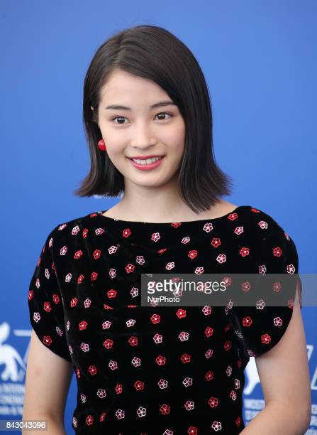 Venice Italy 05 September 2017 Suzu Hirose walks the red carpet ahead of the 'The Third Murder ' screening during the 74th Venice Film Festival