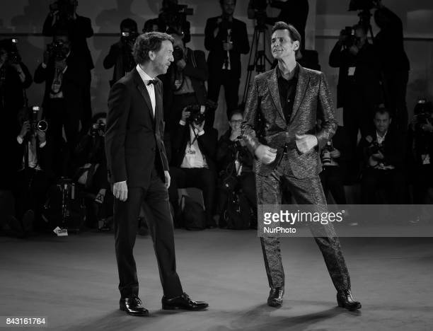Venice Italy 05 September 2017Jim Carrey and Chris Smith attend the premiere of the movie 'Jim amp Andy The Great Beyond The Story Of Jim Carey...
