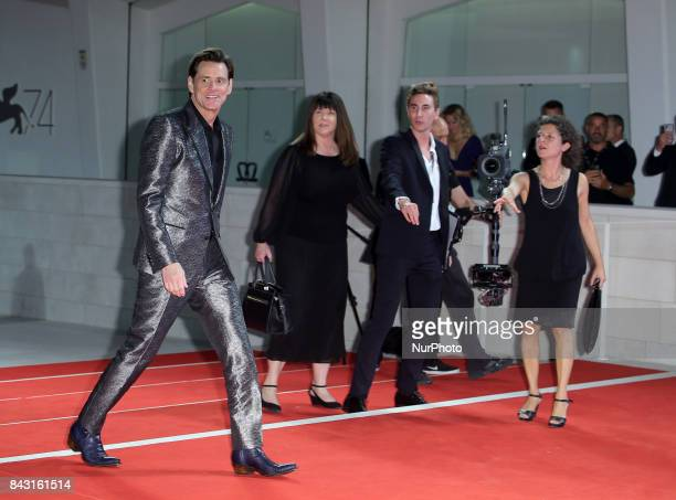 Venice Italy 05 September 2017Jim Carrey attend the premiere of the movie 'Jim amp Andy The Great Beyond The Story Of Jim Carey ampAndy Kaufman With...