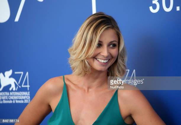 Anna Ferzetti attends the 'Emma ' photocall during the 74th Venice Film Festival