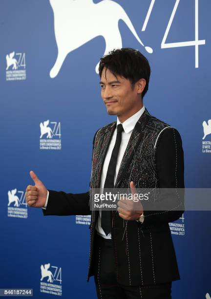 Venice Italy 07 September 2017 Le Geng attend the photocall of the movie 'Jian Nian Hua' presented in competition at the 74th Venice Film Festival