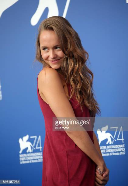 Lou Luttiau attend the 'Mektoub My Love Canto Uno' photocall during the 74th Venice Film Festival