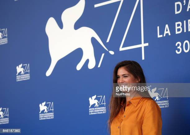 Ophelie Bau attend the 'Mektoub My Love Canto Uno' photocall during the 74th Venice Film Festival