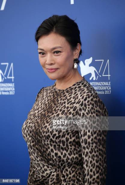 Venice Italy 07 September 2017 Shi Ke attend the photocall of the movie 'Jian Nian Hua' presented in competition at the 74th Venice Film Festival