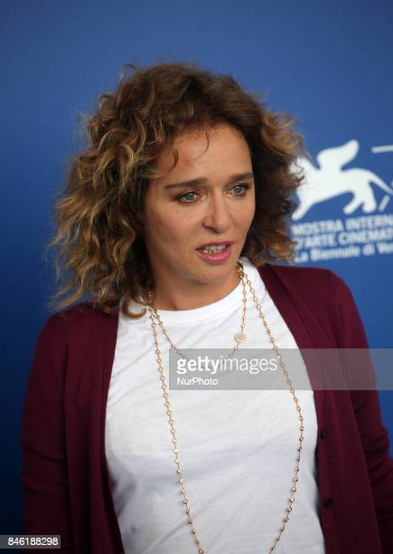 Valeria Golino attends the 'Emma ' photocall during the 74th Venice Film Festival