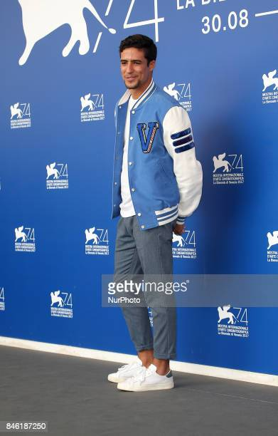 Shain Boumedine attend the 'Mektoub My Love Canto Uno' photocall during the 74th Venice Film Festival
