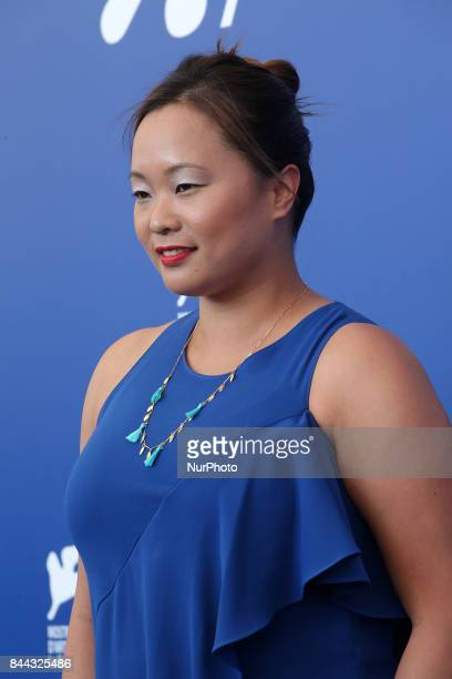 Venice Italy 08 September 2017 Angeles Woo attends the 'Zhuibu ' photocall during the 74th Venice Film Festival
