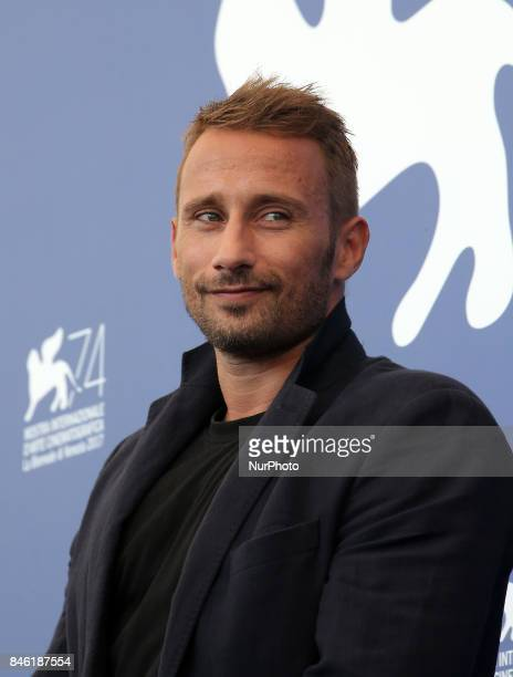 Venice Italy 08 September 2017 Matthias Schoenaerts attends the 'Racer And The Jailbird ' photocall during the 74th Venice Film Festival