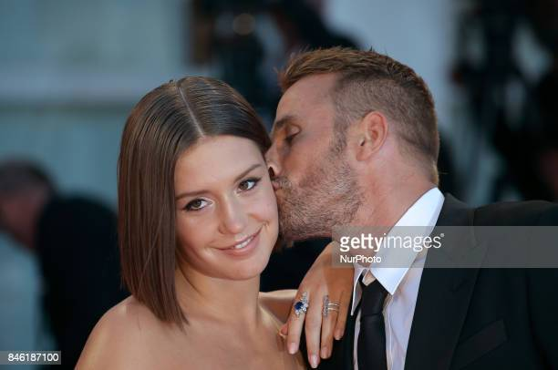 Venice Italy 09 September 2017 Matthias Schoenaerts and Adle Exarchopoulos walks the red carpet ahead of the 'Racer And The Jailbird ' screening...