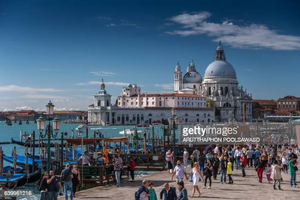 Venice Italy , Basilica di Santa Maria della Salute