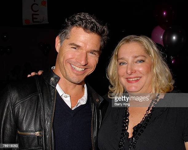 LOS ANGELES CA JANUARY 11 Venice Magazine's Paige Petrone and guest attend Venice Magazine's after party for The Catholic Girl's Guide to Losing Your...
